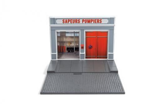 DECOR - Caserne de Pompiers - Scale model car made of metal / Die-cast / in 1:43 scale manufactured by NOREV.