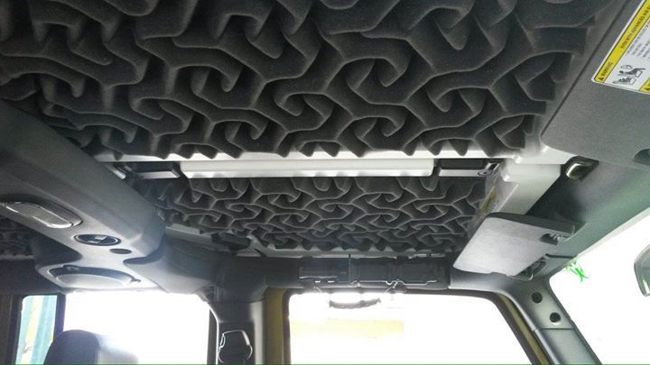 Diy Acoustic Foam For The Winter Jeep Wrangler