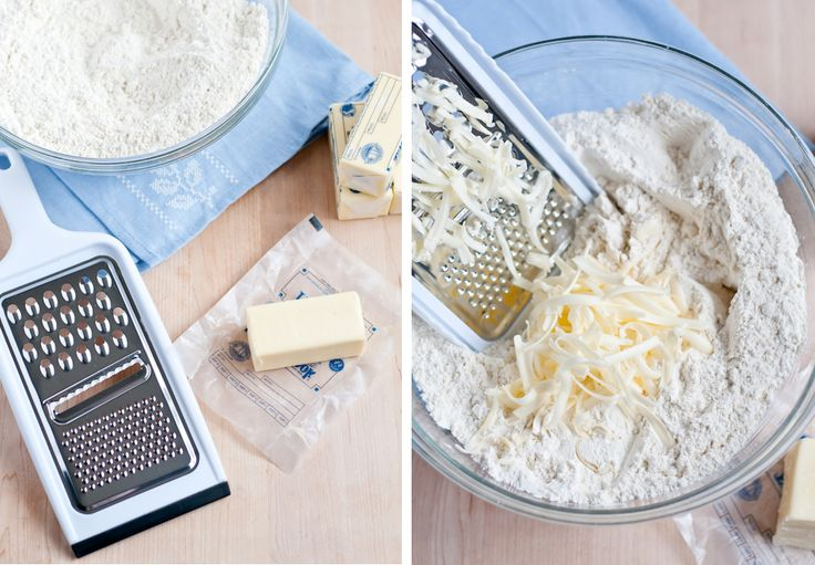 Need to thaw frozen/cold butter quickly?... shred it with a grater.  Brilliant!