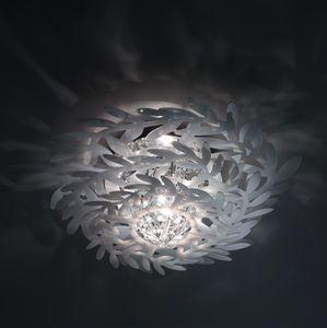 original design ceiling light / round / Cristalflex® / halogen