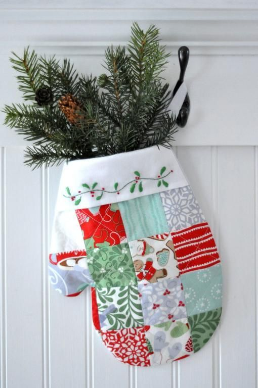 Craftsy Pattern- Quilted Stocking