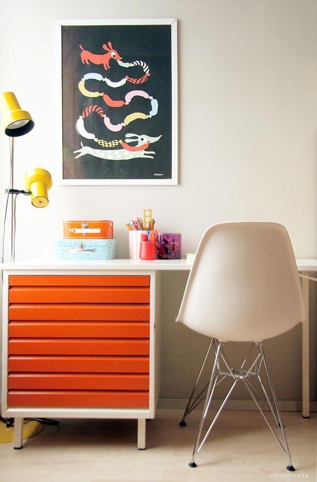 Pinjacolada: kids room desk