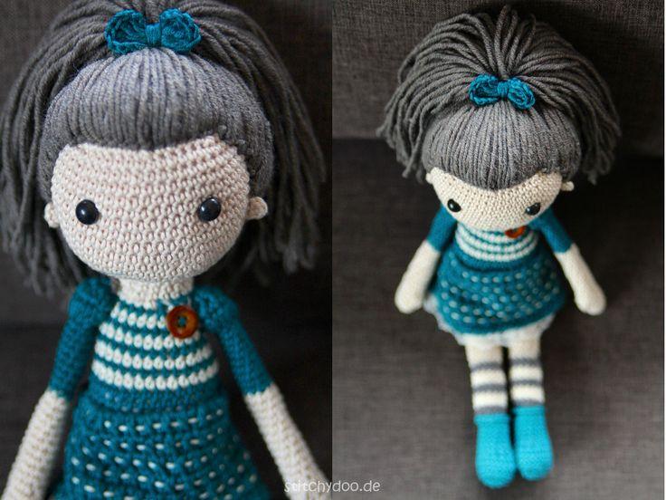 stitchydoo: Annabelle | Eine Häkelpuppe mit viel Liebe zum Detail // crochet doll