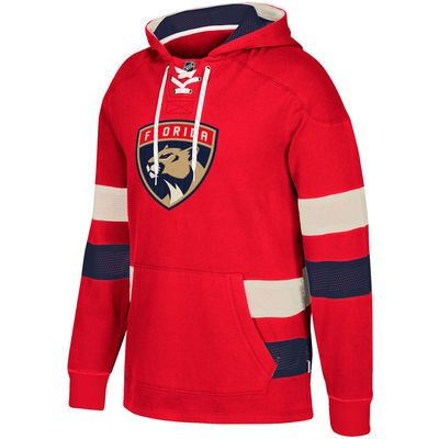 Men's Florida Panthers CCM Red Jersey Pullover Hoodie