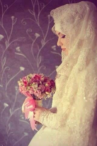 "☪ Hijab in wedding - Go to ""www.islamswomen.com"" and learn somethings about Hijab!"