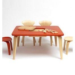 Cherner Children's Classroom Table W/Storage Box