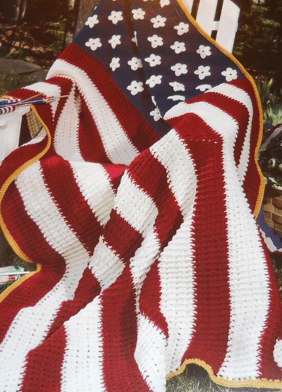 American Flag Crochet For My Babes Pinterest Flags