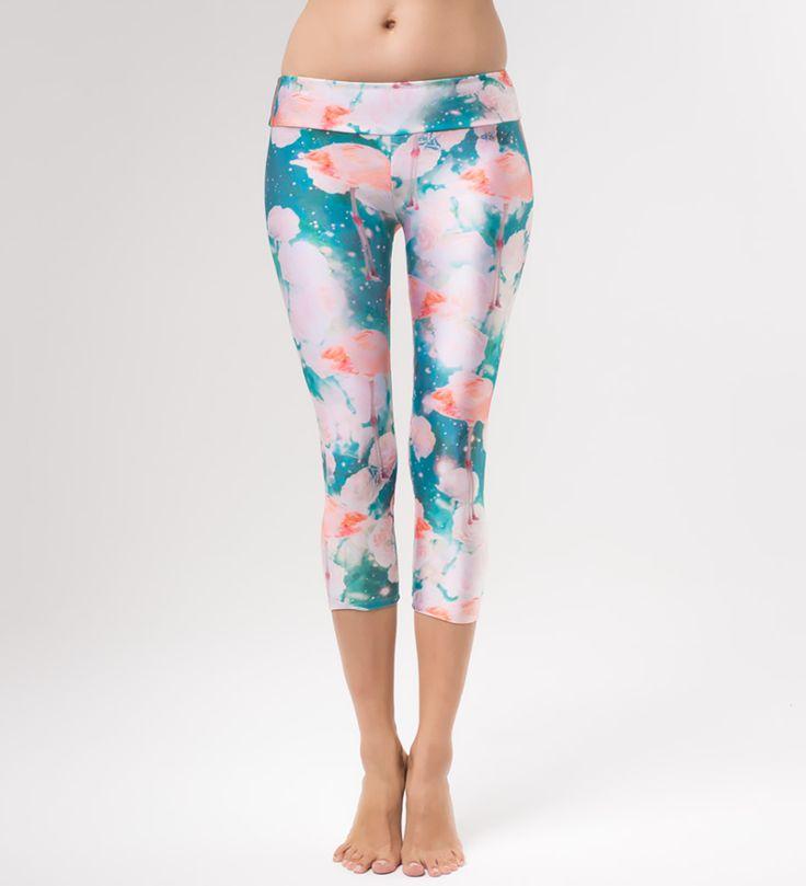 Flamingo yoga pants, Mr. GUGU & Miss GO