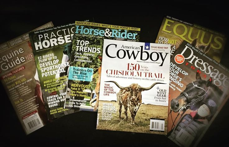 Need something interesting to read? Why don't you stop by & pick up one of these magazines?! 📖📖💕🐴#shopping #equestrian #horses #reading #learning #thursday #riding #boredombuster