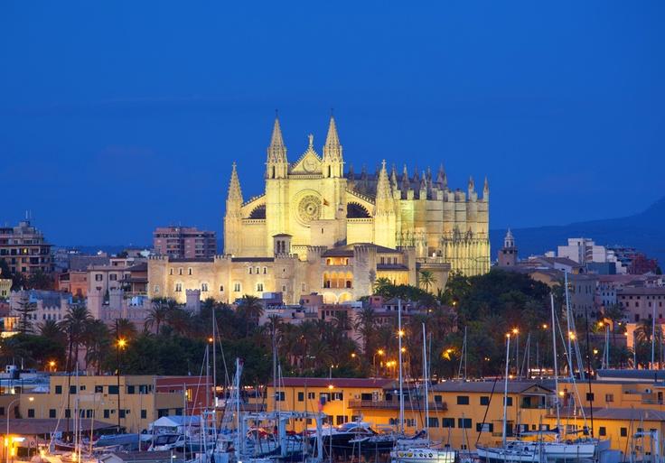 Maiorca: cattedrale Santa Maria #travelgood #Canarie #Baleari
