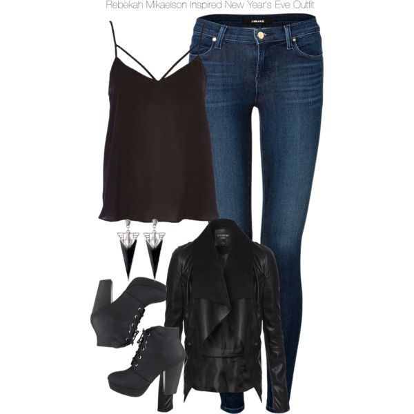 The Originals - Rebekah Mikaelson Inspired New Year's Eve Outfit by staystronng…