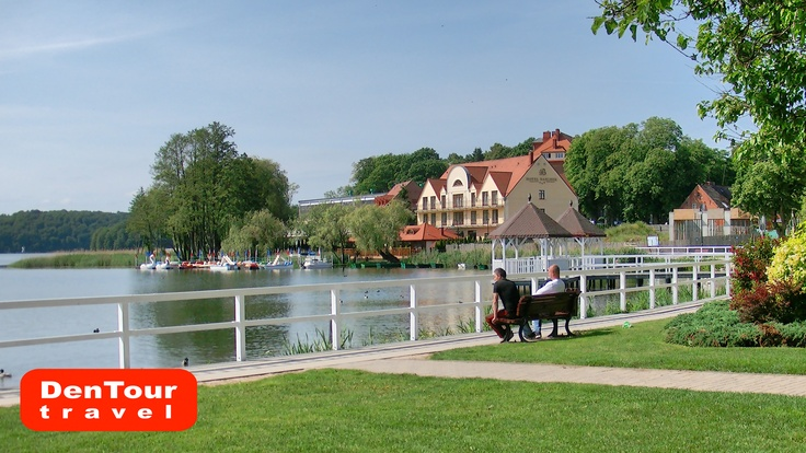 The Lake in Barlinek, Poland. Very nice little town