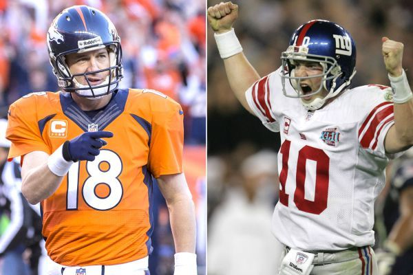 Eli Manning talks about what this win would mean to Peyton. Feb 04, 2016.