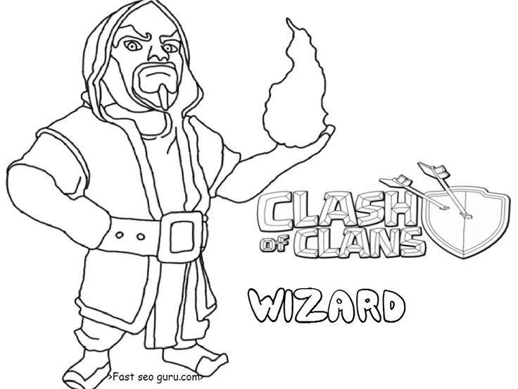 13 best clash of clans coloring pages images on pinterest