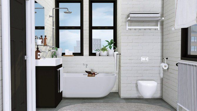 Sims 4 Bathroom Ideas Inspirational Sveta Bathroom At Mxims Sims 4 Updates Sims Sims House Sims 4