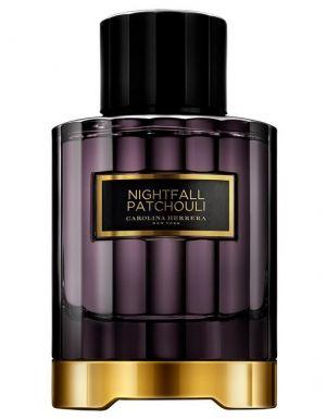 Nightfall Patchouli by Carolina Herrera: benzoin resin, cinnamon and Indonesian patchouli leaves.