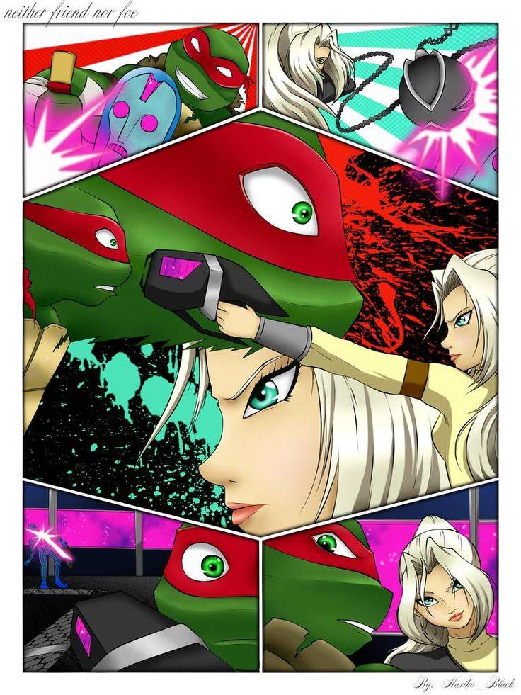 Fan Art Friday: Teenage Mutant Ninja Turtles by techgnotic