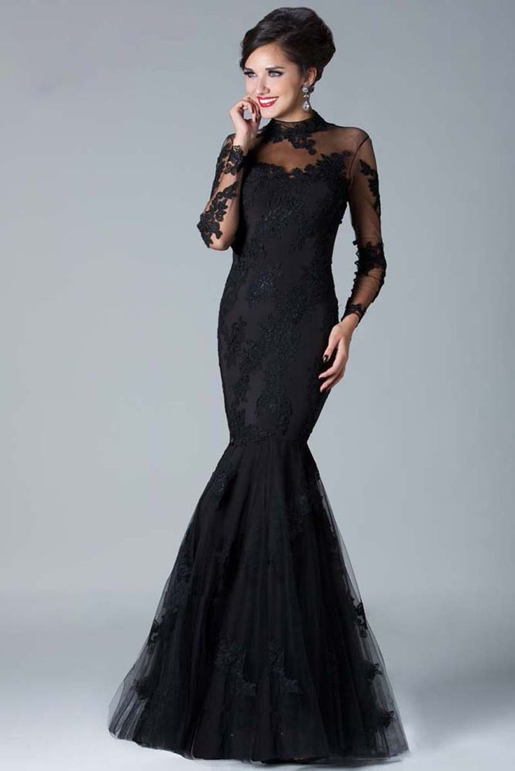 14 best Long Formal Dress images on Pinterest | Evening gowns ...