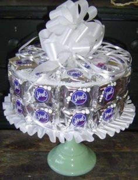 York Peppermint Patty Birthday Cake