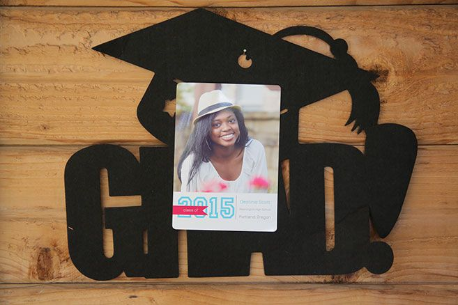Print Borderless Graduation Announcements with FREE DOWNLOAD from HP Photo Creations | MyPrintly