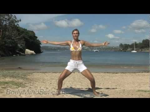 Sol Walkling - 15 min Beach Body Pilates workout in Manly Australia. I do this every morning!!