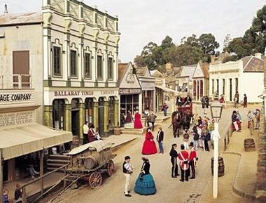 Step back in time to Sovereign HIll Ballarat Victoria.