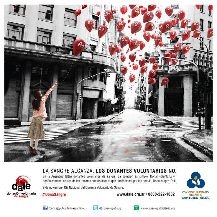 9 de Noviembre -Día Mundial del Donante Voluntario de Sangre- 2013