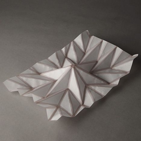 Printed to fold... clever!