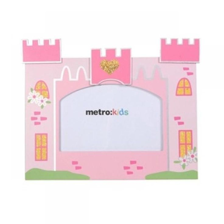 Castle Photo Frames - Metro for sale by Little Shop of Treasures. Other Metro Kids available now at LSOT.