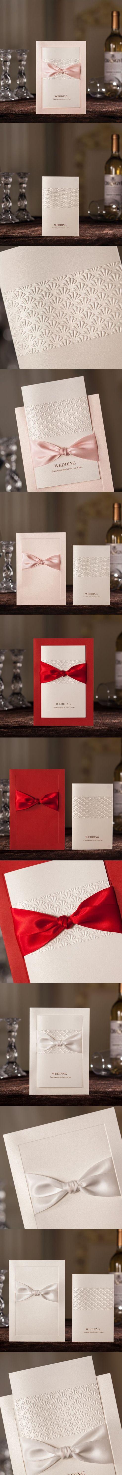 26 best Wedding Invitations images on Pinterest | Invitation ideas ...