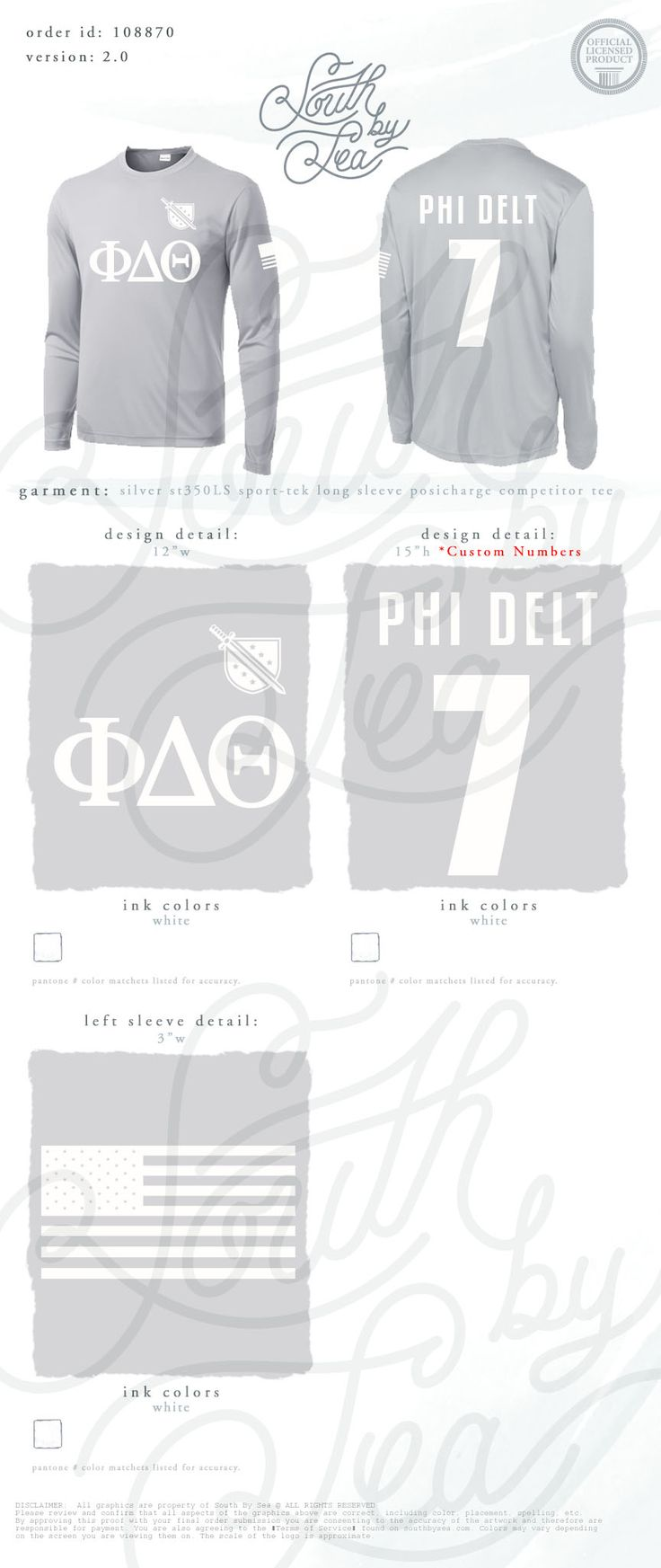 Phi Delta Theta | Phi Delta | Jersey Design | Intramural Design | American Flag | Dry Fit | Athletic Wear | South by Sea | Greek Tee Shirts | Greek Tank Tops | Custom Apparel Design | Custom Greek Apparel | Sorority Tee Shirts | Sorority Tanks | Sorority Shirt Designs
