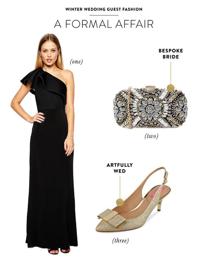 A Formal Affair Winter Wedding Guest Fashion: http://www.stylemepretty.com//2015/01/15/winter-wedding-guest-fashion-inspiration/