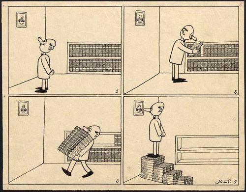 Om humor og satire i kunsten