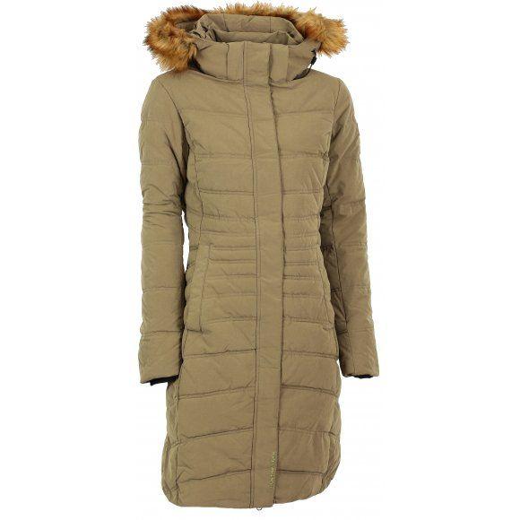 2400 dámský zimní kabát vypln dute vlakno jako peri, cena po 50 pr. sleve northfinder  Dámský zimní kabát NORTHFINDER TAWNYA BU-4329-2SP BÉŽOVÁ