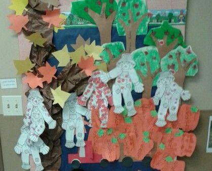 Scarecrow Bulletin Board: