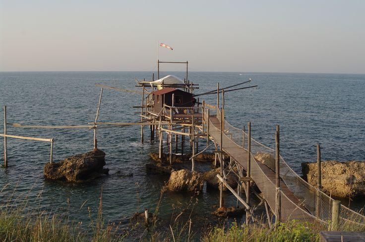 Trabocco in San Vito Chietino, #Abruzzo - www.BedAndBreakfastItalia.com #Italy