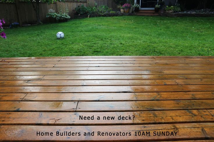 Decking Galore in this week's Home Builder's and Renovators Auction! https://goo.gl/yd6VFM?utm_content=buffer7b13a&utm_medium=social&utm_source=pinterest.com&utm_campaign=buffer