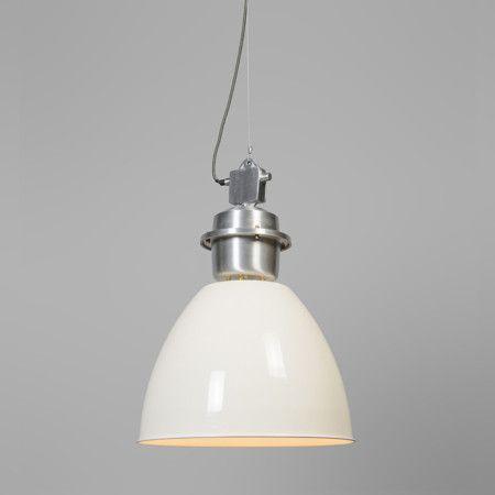 Lampa wisząca Dazzle kremowo biała #stylskandynawski #nowoczesnelampy #lampyindustrialne