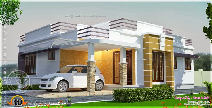 Check the photos of some 35 most affordable and simple design that you can pattern your dream house. It is design for long term and with 2nd floor or 3rd floor provision for future renovation. Courtesy of the Indian Design House or popularly known in the internet as Kerala House Design, these are the type of houses that are square or rectangle in shape and single story, or two story, with a roof deck design. Obviously its roof is the covering which are made up of cement and gravel and sand…