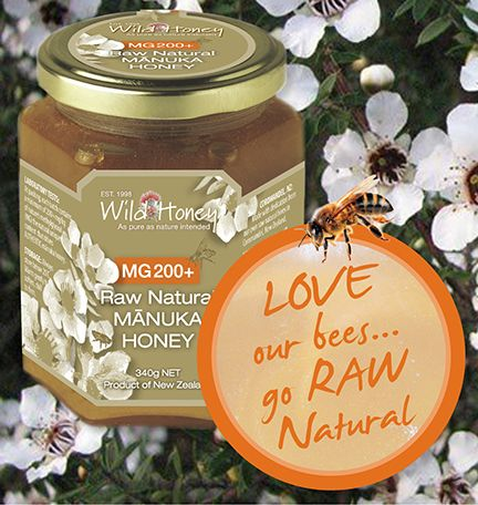 Love this pin with the bee.  Our contented bees do all the work to make a spectacular quality manuka honey