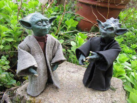 Yoda - cactus et figurines jimdo page !