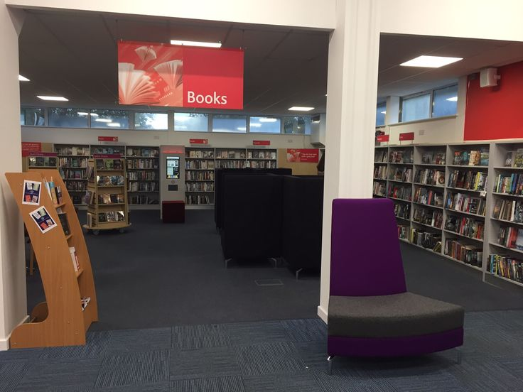 Bishops Cleeve Library refurbished 2016