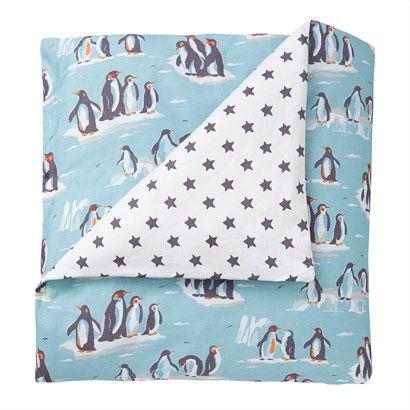 Penguin Single Duvet Set