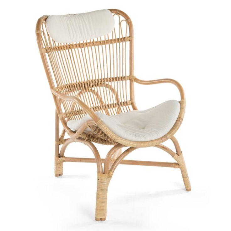 M s de 25 ideas incre bles sobre rattan armchair en - Sillas de mimbre ikea ...
