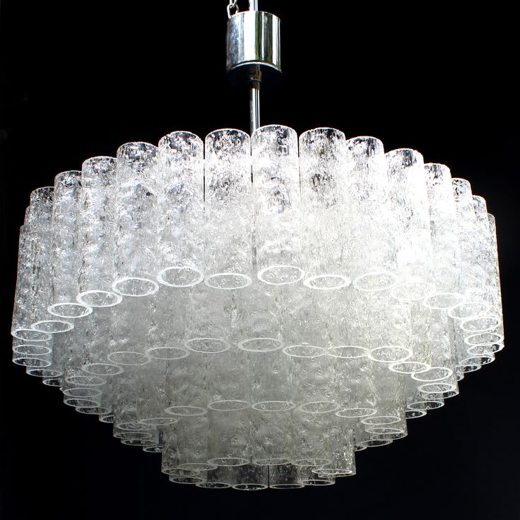This exceptional German Art Deco chandelier was