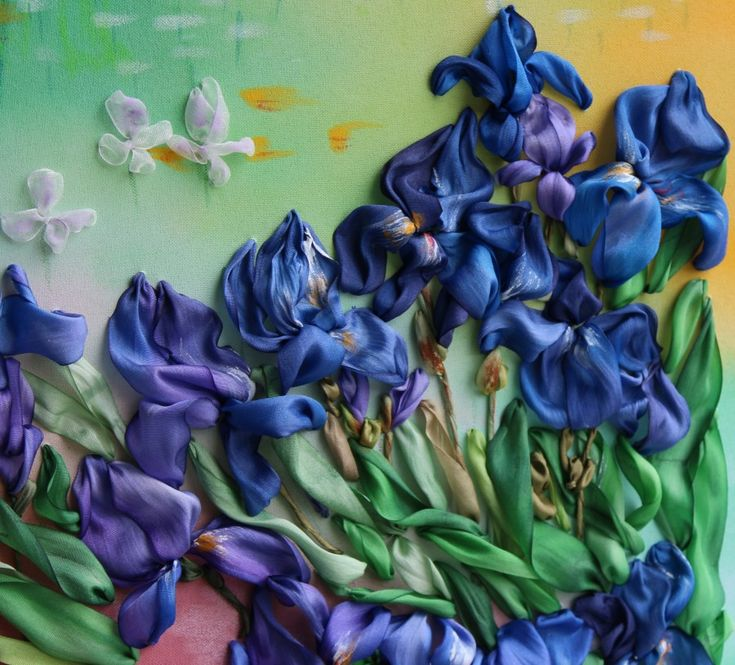 "Gallery.ru / Работа № 39 - Номинация ""Мастер. Цветочная композиция на чистом холсте"" - Kristelle"