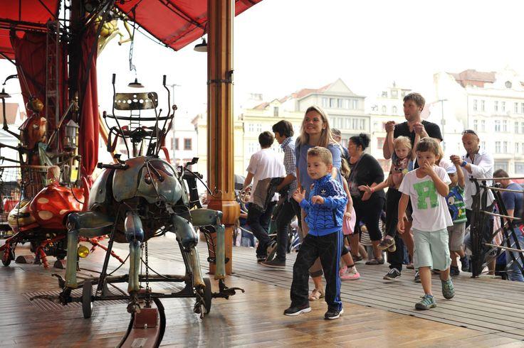 Carousel Le Manège Carré Sénart in Pilsen. #plzen2015