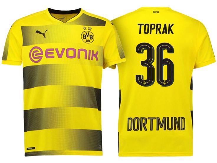 Borussia Dortmund 2017-18 Home Shirt toprak