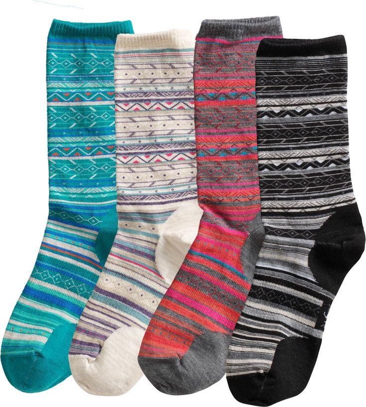 Smart wool socks