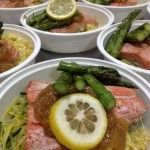 Weight loss meals delivered Miami Paleo diet Miami CrossFit nutrition Doral Sunny Isle Beach weight loss meals   Roasted Sockeye Salmon with Mango Chutney